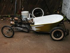 The Bucket Soapbox car rebuild by Paul de Valera