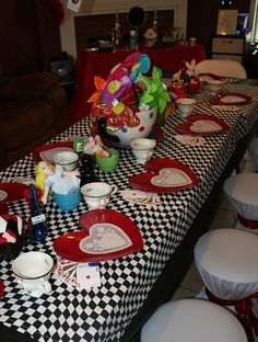 Wonderland - Queen of Hearts Party   Flickr - Photo Sharing!