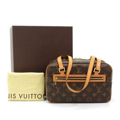 acf091edf9e5 Louis Vuitton Louis Vuitton Cite MM Monogram Canvas Shoulder Bag