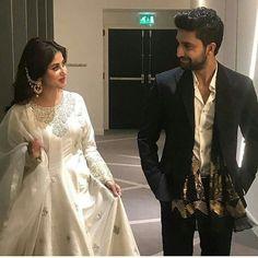 Ahad and Sajal Asian Wedding Dress Pakistani, Pakistani Party Wear, Pakistani Outfits, Pakistani Models, Pakistani Actress, Pakistani Dramas, Wedding Dresses For Girls, Bridal Dresses, Mini Dresses