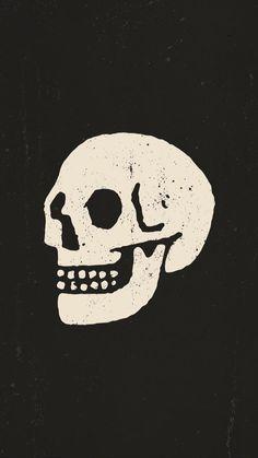 Skull Logo, Skull Art, Gravure Illustration, Illustration Art, Enduro Vintage, 8bit Art, Skeleton Art, Skull Painting, Skull And Bones