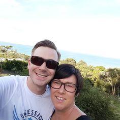 #lorne #balcony #blueskies #husbandandwife #selfie #selfies by theblackbicycle http://ift.tt/1IIGiLS