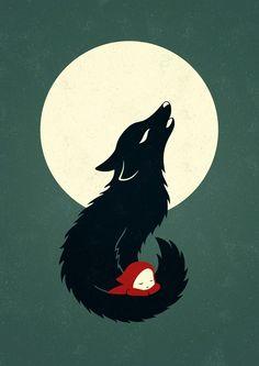 Porque em toda mulher reside um loba!!