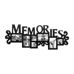 Memories Black Collage Frame | Kirklands