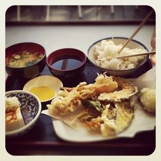Japanese food feast