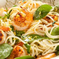 Lemon Shrimp Pasta Recipe