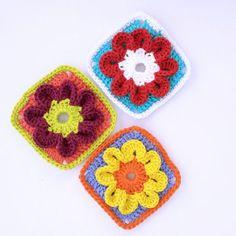 Granny bloom FREE pattern