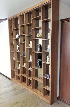 Стеллаж для сувениров изготовлен из массива дуба, по индивидуальному проекту. Shelving, Divider, Room, Furniture, Home Decor, Shelves, Bedroom, Shelving Racks, Rooms