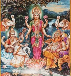 Bal Krishna 15 Hanuman Durga Saraswati Hindu Postkarte Set