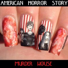 American Horror Story Nails