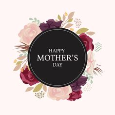 Happy Mother's Day Mothers Day Text, Happy Mothers Day Banner, Mothers Day Roses, Mother Day Message, Happy Mother's Day Card, Happy Mother's Day Greetings, Happy Mother S Day, Happy Mom, Mother's Day Banner