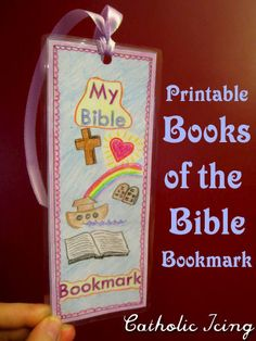 printable books of the bible bookmark