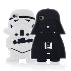 Cute Star Wars Case Cover Alien Robot Warriors Darth Vader Capa Soft Silicone Phone Cases For iPhone iPod Touch 5 Touch 6 Fundas