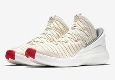 sneakers  news The Jordan Flight Luxe Appears In Sail And Red Scarpe Da  Ginnastica f31e87848ab