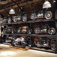 Pin On Motorcycles Wheelie Garage on Amazing Garage Ideas 8228 Bmw Motorcycles, Custom Motorcycles, Custom Bikes, Custom Cars, Custom Cycles, Motorcycle Shop, Motorcycle Garage, Motorcycle Workshop, Motorcycle Style