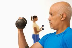 Keeping your brain sharp with dumbbells . #aging #brainhealth #weightlifting
