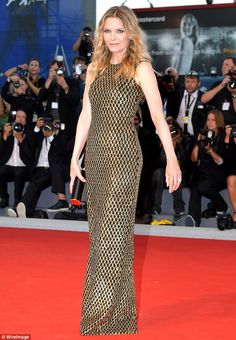 Michelle Pfeiffer stole the show as her latest film premiered at the 74th annual Venice Film Festival ~ 5 Sep 2017