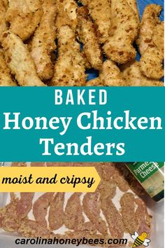 This simple recipe is ideal for a nutritious family meal. Baked honey chicken tenders can be made using purchased or homemade bread crumbs. Cooking with honey means they are moist inside and crispy on the outside - sure to please.