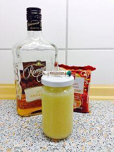 Apfel - Marzipan - Marmelade mit Amaretto, ein beliebtes Rezept aus der…