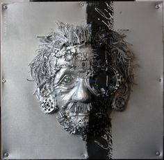 #ilragazzo4 #numberfour #mixedmediapaint #collage #cyberpunk #cybermask #cyborg #goth #einstein #psichedelicmind #trip #emotion #illumination #black #symbolism #piecings #diatacion #metal #mask #cyberculture #cybernetic #love #passion #dream #artist #man https://www.facebook.com/myperceptionart