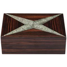 Art Deco Shagreen and Coromandel Box
