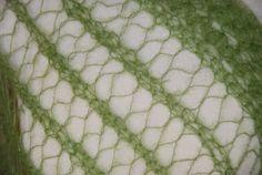 Weiteres - Zarter Lace Schal aus Mohair/Seide - ein Designerstück von HansensGasse bei DaWanda