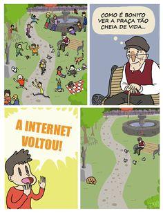 A internet é saudável?