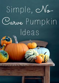 Simple, no-carve pumpkin ideas that are just the thing for young kids