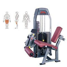 Johnson SL-153 leg extension är en maskin som fokuserar på framsidan av benet ''Quadriceps'' Att använda sig utav denna maskin istället för att köra tex knäböj kan rädda din rygg och knän.