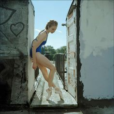 Ballerinas on the street