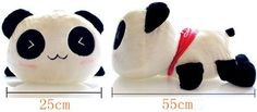 Aliexpress.com : Buy New Stuffed Animal Doll 21'' 55cm Plush Cute Panda Teddy Bear High Quality Soft Toy Girlfriend Kids Birthday Christmas Gift from Reliable doll ceramic suppliers on AnAn Shop