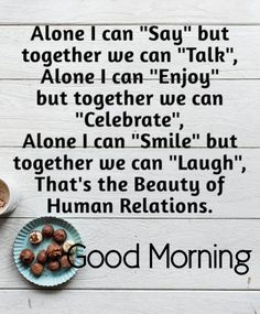 The best Good Morning images collected from all over the web that'll inspire your loved ones & uplift their mood. Good morning images, gifs, wishes, poems, wishes & more! Morning Quotes In English, Good Morning Quotes For Him, Good Morning Texts, Morning Thoughts, Good Morning Inspirational Quotes, Good Morning Messages, Good Morning Good Night, Good Morning Wishes, Good Morning Images