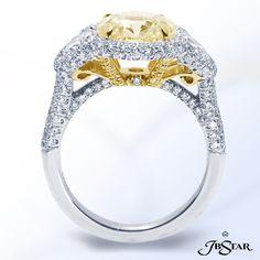 JB Star Yellow Round Diamond