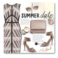 """""""Summer Date Dress: Rooftop Bar"""" by beebeely-look ❤ liked on Polyvore featuring Givenchy, Joseph Ribkoff, Lands' End, Gucci, Dolce&Gabbana, Stephen Webster, country, dress, summerdate and premiereavenue"""