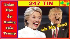 Ác Mộng Đang Đến Với Ông Donald Trump, Cánh Cửa Nhà Trắng Hé Mở Với Bà H...