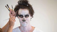Tutorial de maquillaje Esqueleto adulto para Halloween