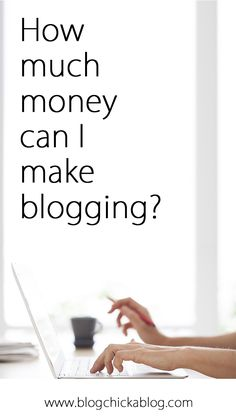 This will give you at least SOME idea of what to expect! How much money can I make blogging? Blogging Tips | How to Blog