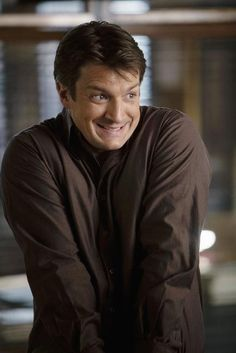 Nathan Fillion's 'squee' face...I love it :D