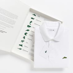 70faafb5e5afa Lacoste s crocodile logo is replaced by endangered species for limited  edition polo shirts Polo Da Lacoste