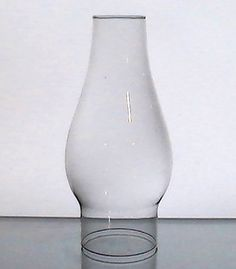 Hurricane Lamp Shade 2 7/8 fitter x 9 Etched Primrose Clear Glass ...