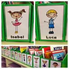 Personalised book box labels! Love, Laughter and Learning in Prep!
