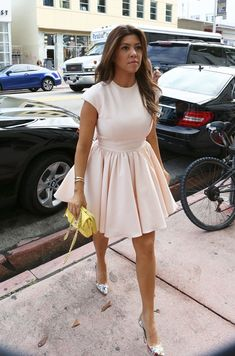 Kourtney Kardashian great dress