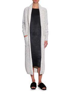 Chunky ribbed-knit donegal wool-blend cardigan | Raey | MATCHESFASHION.COM UK