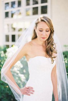 Wedding Hairstyles That Work Well With Veils | Wedding Dresses Style | Brides.com