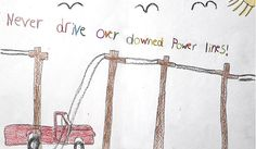 """2014 Electrical Safety Poster Contest: If the posters we received for our recent Electrical Safety Poster Contest are any indication, there are a lot of kids out there who """"get it"""" when it comes to being safe around electricity."""