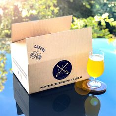 3 Month Brew Box Subscription - Mash Paddle Brewing Supplies Every month we are creating Home Brew Supplies, Brewing Supplies, Home Brew Shop, Summer Brew, Home Brewing Equipment, Slice Of Lime, Homemade Beer, Beer Brewing, Beer Lovers
