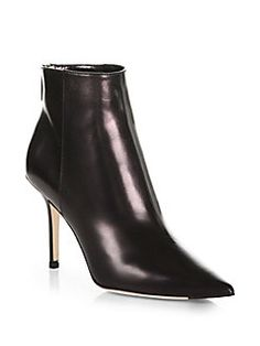 Jimmy Choo - Amore Leather Ankle Boots Shop at Saks Fifth Avenue at 150 Worth Ave in Palm Beach FL