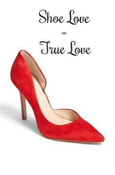 I love shoes.
