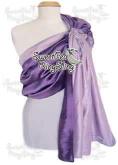 GorgeousSilk - SweetPea Ring Slings™  Ring Sling Baby Carrier Wrap Silk