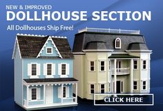 Dollhouse Furniture, Dollhouses Miniatures, Miniature Furniture, Dollhouse Accessories Supplies - Superior Dollhouse Miniatures